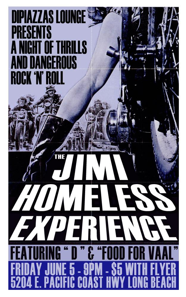 Jimi Homeless Live