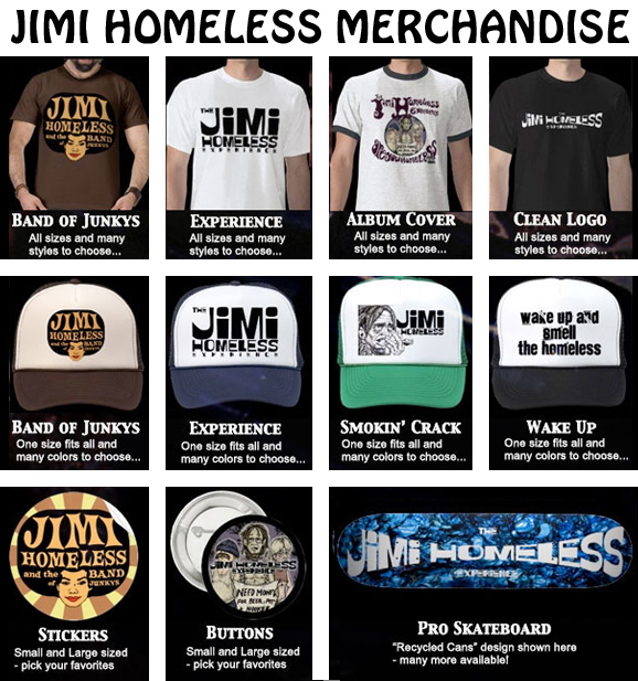 Jimi Homeless Merchandise Link